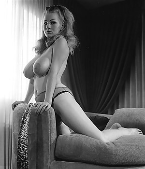 Several sexy sixties chick showing their big natural tits